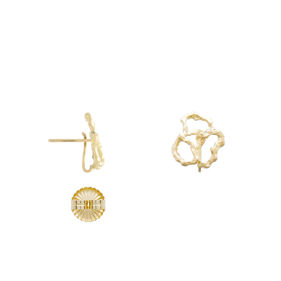 The 18K Seaside Coral Earrings