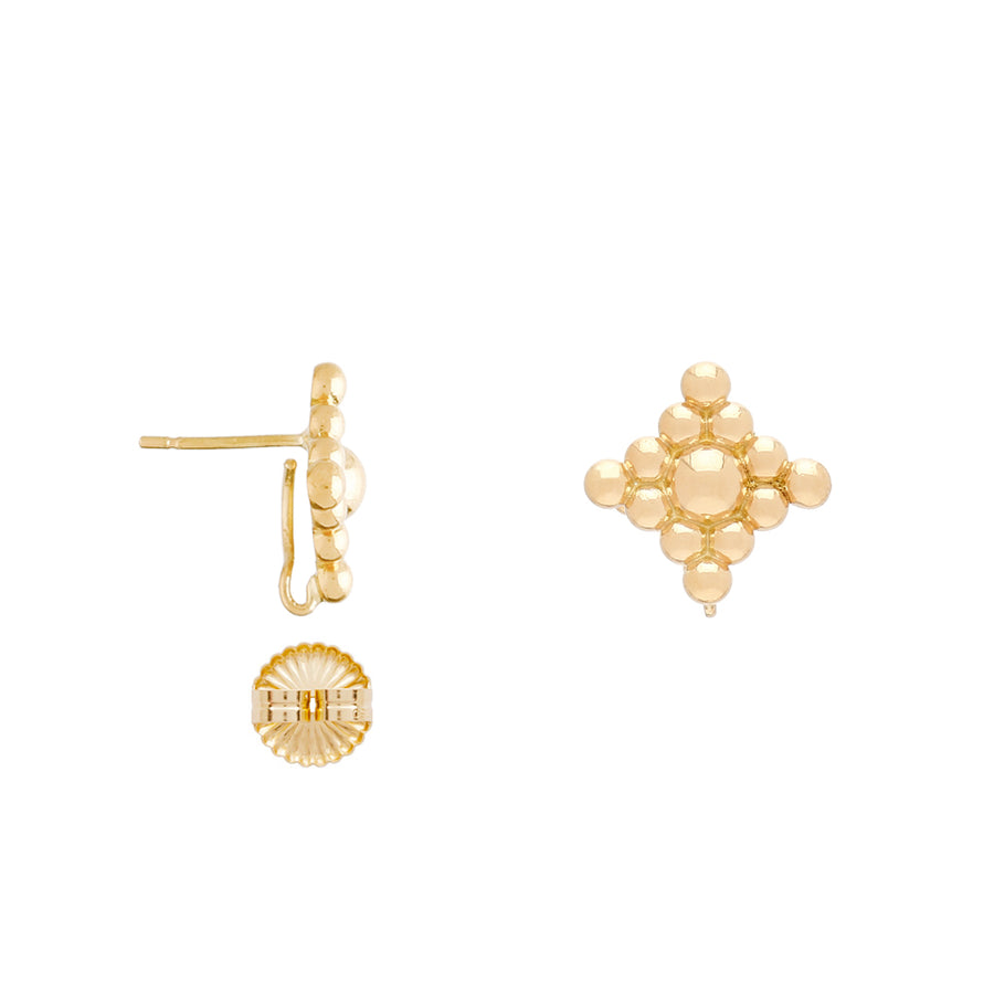 The 18K Filigree Earrings