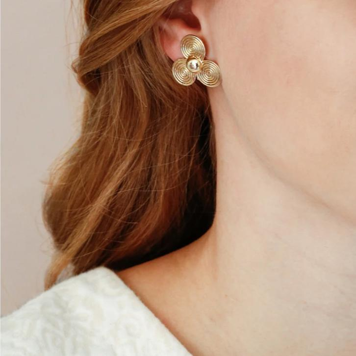 The Large Petal Earrings