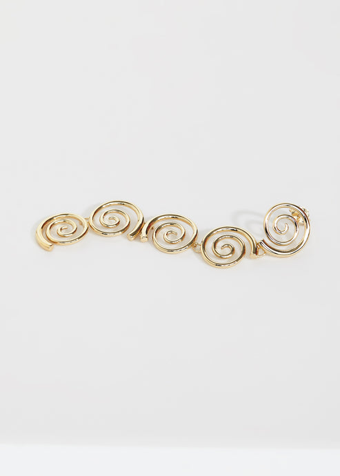 Large Snail Earring - Trine Tuxen Jewelry