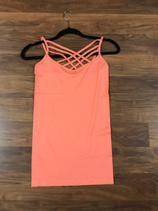 Deep Coral Cage Tank