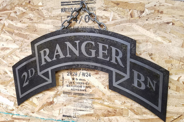 Ranger Scroll Signs