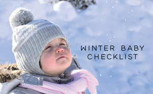 Winter Baby Checklist