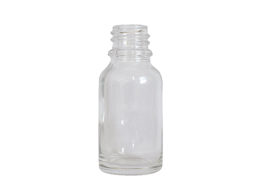Euro Bottle - 15ml Clear