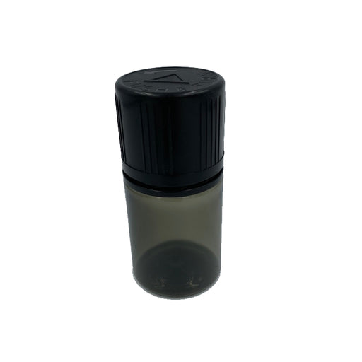 W Bottle - 60ml Black Stubby