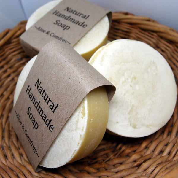 Comfrey and Aloe Vera Natural Soap - luxury hand soap