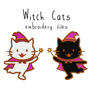 Witch Cats - Flea Circus Designs