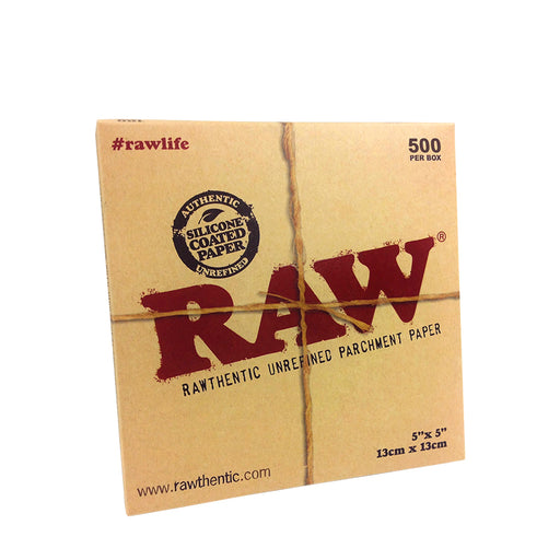 RAW Parchment 5x5 Sheets 500 Pack