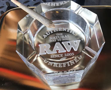 RAW Crystal Ashtray Canada