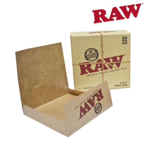 RAW Natural Parchment Pouches