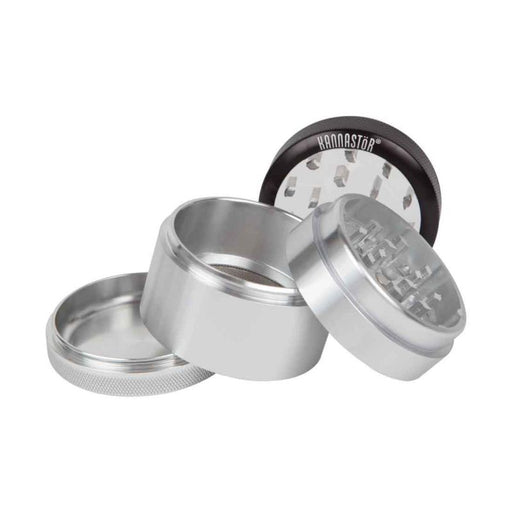 SKCL-M4-22 kannastor clear top solid body 4 piece grinder