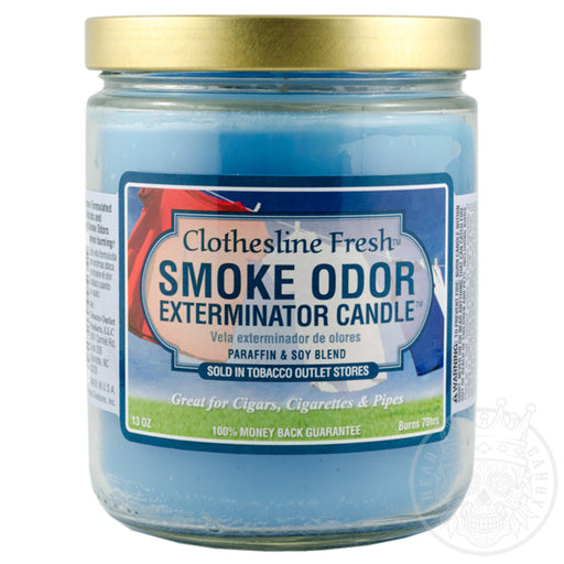 Clothesline Fresh Smoke Odor Candle