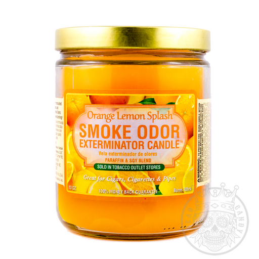 Orange Lemon Splash Candle for Smoke Odors