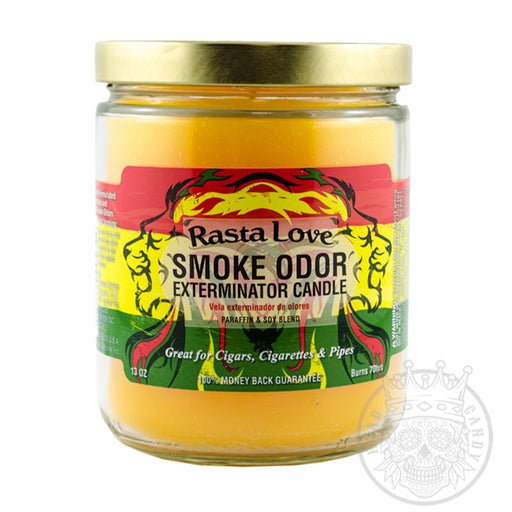 Rasta Love Smoke Odor Candle