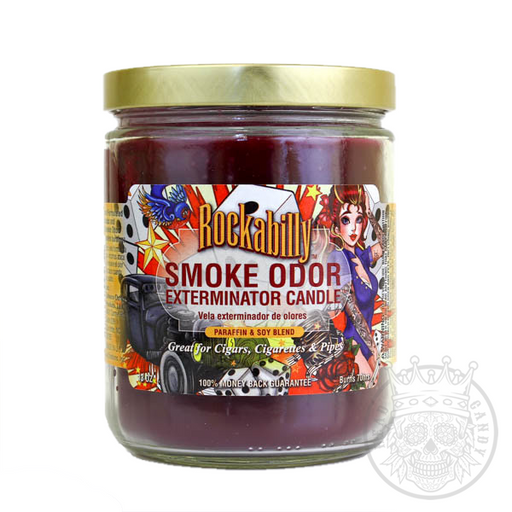 Smoke Odor Exterminator Candle Rockabilly