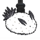 Bunny Nudibranch Luggage Tag