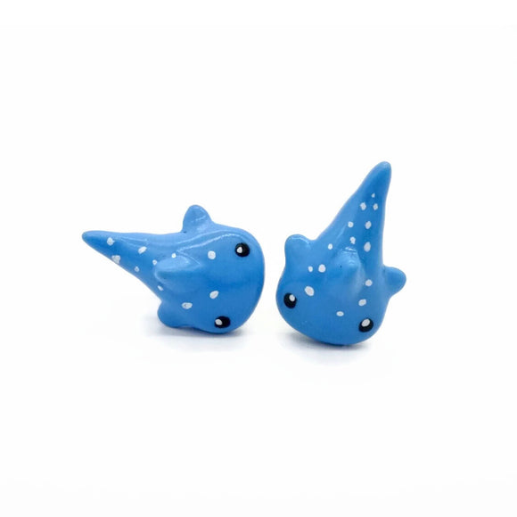 William Whale Shark Earring