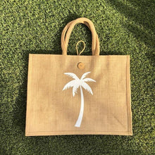 Eco Shopper Bag - Palm Tree print - Available in 14 colours