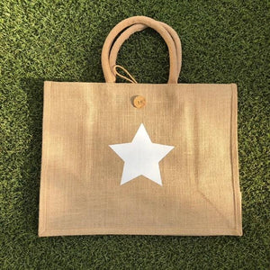 Eco Shopper Bag - Small Star print - Available in 14 colours