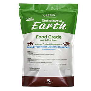 Diatomaceous Earth Food Grade, 5lb - Garden Gift Hub