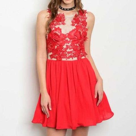 LADY IN RED DRESS | MODA ME COUTURE