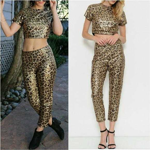 WILD SIDE SEQUIN SET | MODA ME COUTURE