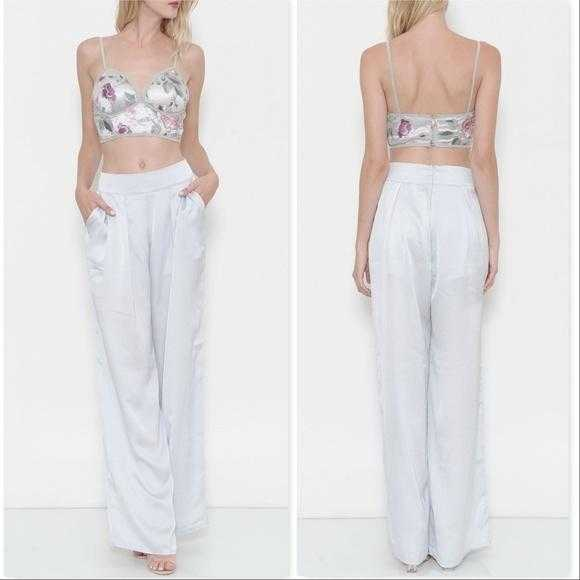 CROP TOP PANT SET | MODA ME COUTURE