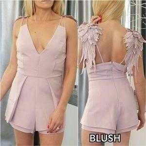 Angel Wings Romper | MODA ME COUTURE