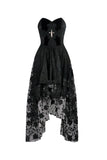 Elegant Dead Soul Cross Gothic Dress DW063