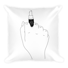 Middle Finger Basic Pillow