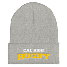 Cal High Rugby Cuffed Beanie
