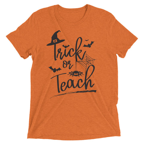 Halloween, Trick or Teach – Short sleeve t-shirt