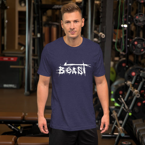 Be the BEAST to her beauty this valentines day – Short-Sleeve Unisex T-Shirt