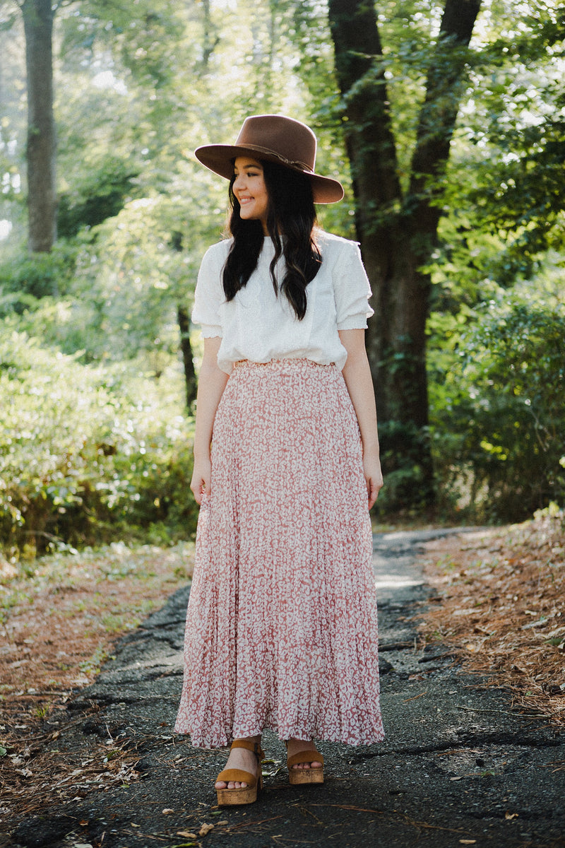 The Princeton Leopard Maxi Skirt