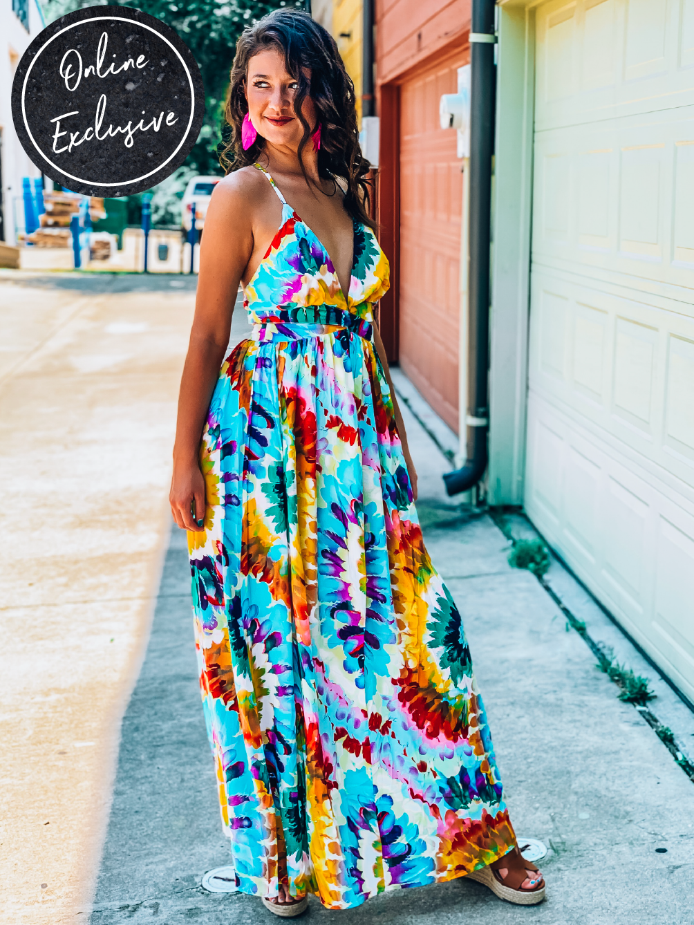 Online Exclusive: Totally Rad Maxi Dress-Women's DRESS-New Arrivals-Runway Seven