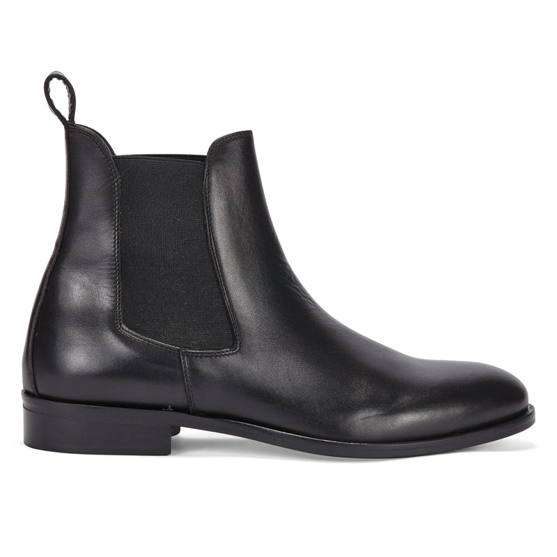 CHELSEA BOOT IN BLACK LEATHER