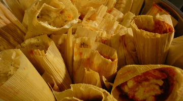 Pork and Red Chile Tamales
