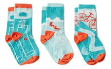 """Chips"" Combed Cotton Socks by Ballonet"