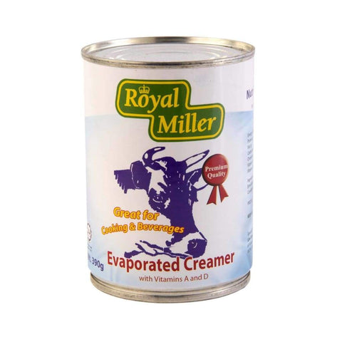 Evaporated Creamer Royal Miller 390g - LimSiangHuat