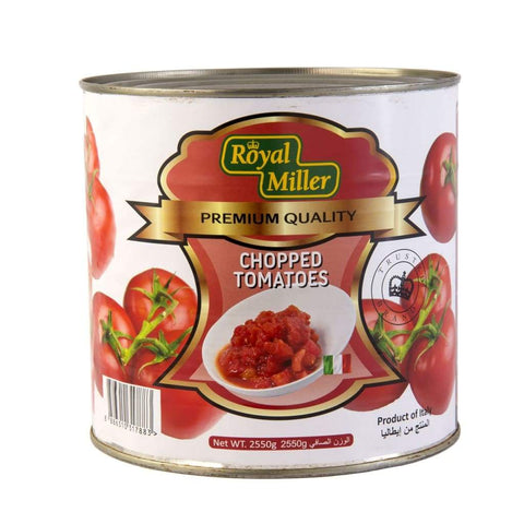 Tomato Chopped Royal Miller 2.55Kg Canned Vegetable