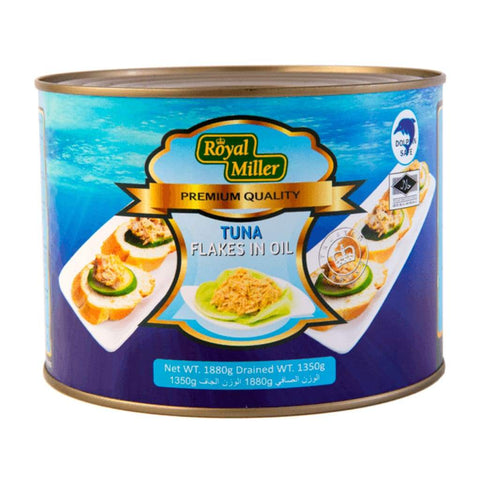 Tuna Flakes In Oil Royal Miller 1.88Kg Canned Meat/seafood