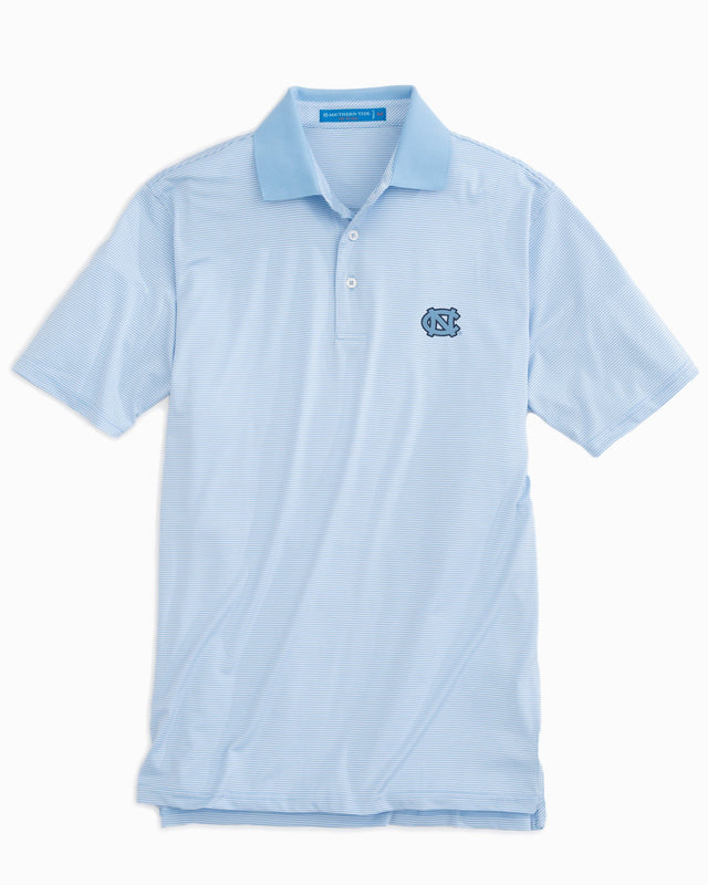 UNC Tarheels Striped Polo Shirt | Southern Tide