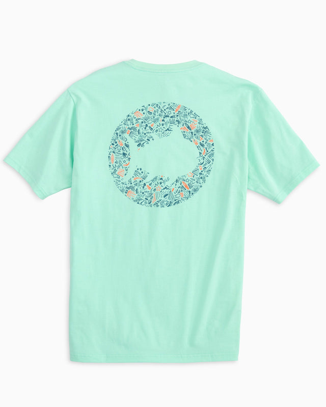 Circle Pattern Skipjack T-shirt | Southern Tide