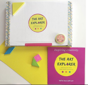 Children's 'Art Explorer' Subscription Box