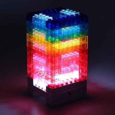 Lampe Rainbow Blocks - Maisonea