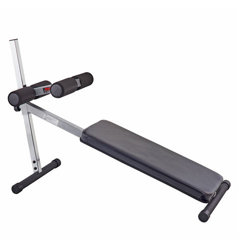 York Barbell FTS Adjustable Sit Up Board (Grey)