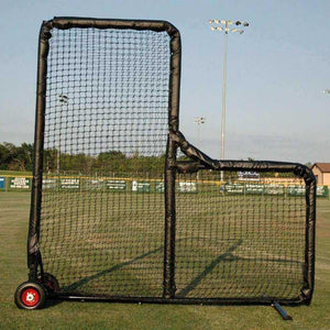 Kodiak Sports 8' X 8' Pro Padded Wheeled L-Screen-Screen - L Screen-Kodiak Sports-Unique Sports
