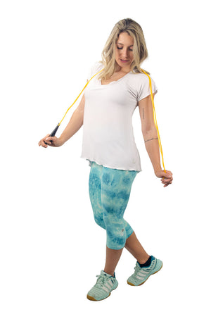 Acqua Capris - women yoga clothes beBrazil