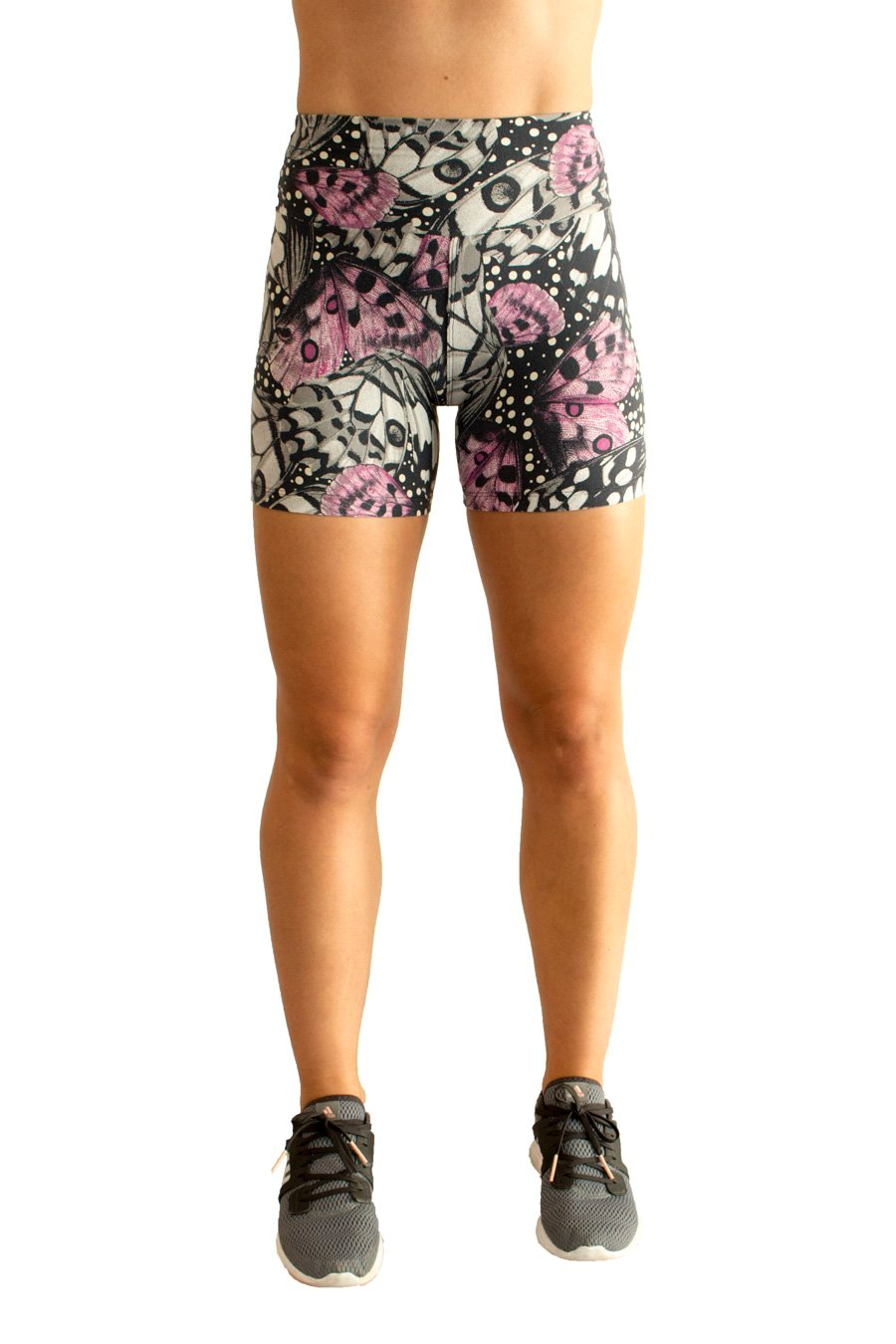 Borboleta Shorts - women yoga clothes beBrazil