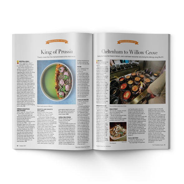 Craig LaBan's Ultimate Dining Guide 2017 - Inside Page Preview